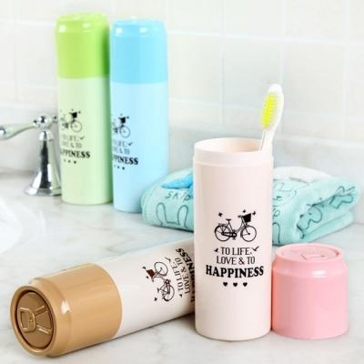 《JMALL》方便攜帶易開罐造型牙刷牙膏收納盒