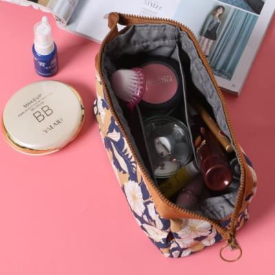 (停售)《JMALL》日系簡約大容量鋼絲水餃包/化妝包/盥洗包