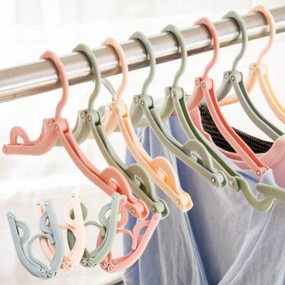 【簡單GO】攜帶式折疊曬衣架(10入)