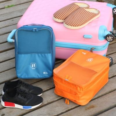 《JMALL》高雅時尚手提多功能鞋子收納袋/衣物收納袋