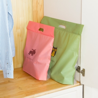 《JMALL》Q版卡通包包防水防塵收納袋(大)