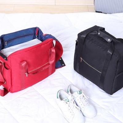 《JMALL》行李箱拉桿適用 多功能耐磨耐用防潑水手提旅行袋/收納袋