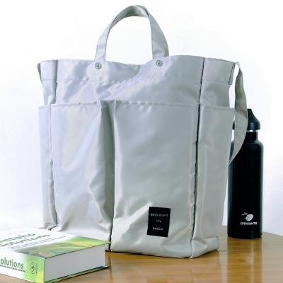 《WEEKEIGHT》時尚休閒大容量多功能手提袋/肩背包/購物袋