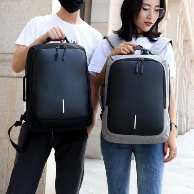 《JMALL》青春版多功能可手提外接USB電源防震15吋筆記型電腦後背包