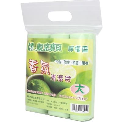 親密寶貝 香氛清潔袋/垃圾袋(大) 64x78cm/500g±5%