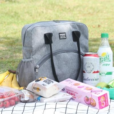 《WEEKEIGHT》大容量豪華耐磨防潑水加厚保溫袋/保冰袋/野餐袋