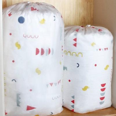 《JMALL》防水防塵可水洗束口棉被收納袋(小)