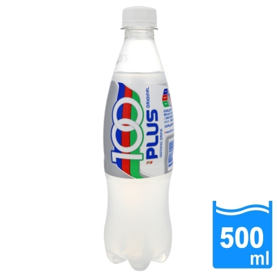 【100PLUS】氣泡運動飲料(500ml/瓶) FDS001