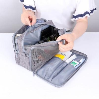 《WEEKEIGHT》加厚防震乾濕分離設計耐磨防潑水輕便手提盥洗包(小)