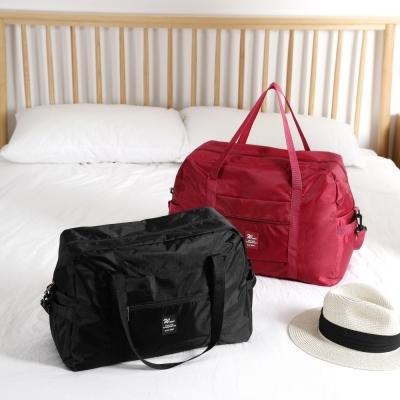 《WEEKEIGHT》可登機防潑水耐磨耐用旅行袋(大)