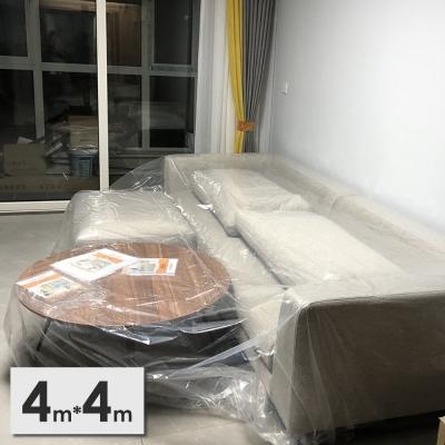 《JMALL》4x4公尺PEVA透明家具防塵布罩