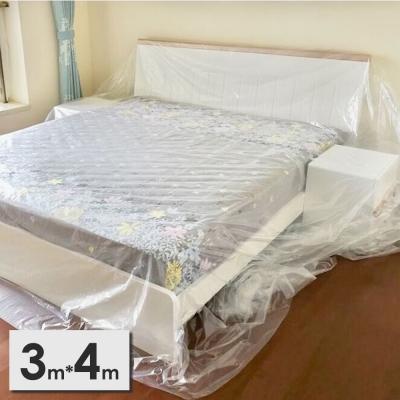 《JMALL》3x4公尺PEVA透明家具防塵布罩