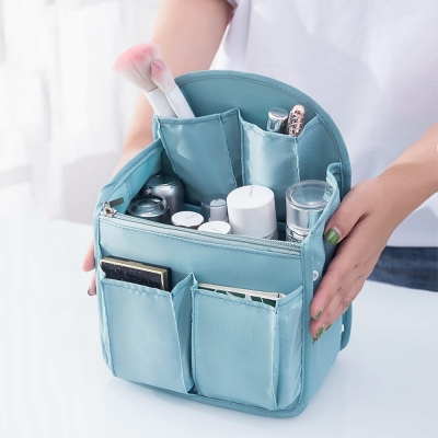 《JMALL》韓版後背包專屬多功能超強收納包中包