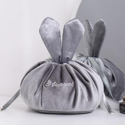 《簡單購》華麗貴族風快速打包懶人束口化妝包/小物收納包
