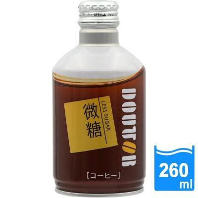 日本進口 DOUTOR 拿鐵咖啡微糖(260ml/瓶) FDC022