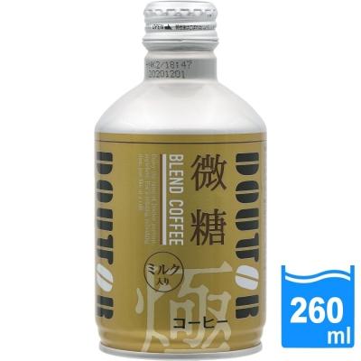 日本進口 DOUTOR 混合咖啡微糖(260ml/瓶) FDC023