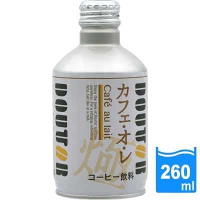 日本進口 DOUTOR 拿鐵咖啡(260ml/瓶) FDC024