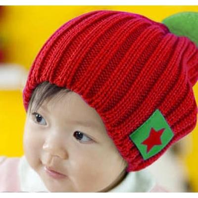 (售完停賣)《JMALL》韓版星星標誌保暖毛線帽