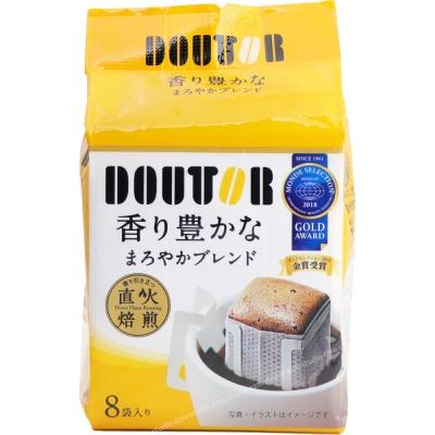 日本進口 DOUTOR 掛耳濾泡式咖啡-香醇(8包/袋) FDC026