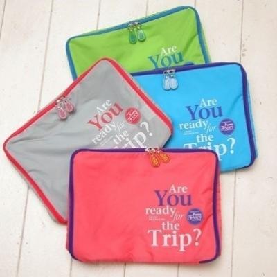 (售完停賣)《JMALL》加厚材質旅行防潑水衣物收納袋(3件/套)