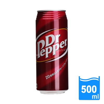 日本進口 Dr Pepper 可樂(500ml/罐) FDS012
