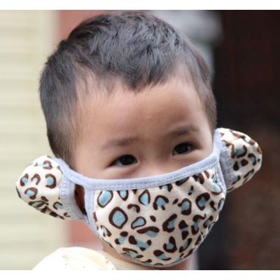 (停賣)《JMALL》韓版點點兒童防寒護耳口罩