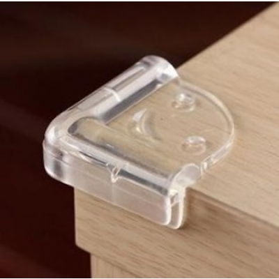 《JMALL》透明軟質L型防撞護角(8入/包)