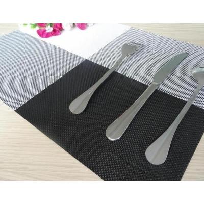 (售完停賣)《JMALL》創意時尚方格編織隔熱餐桌墊(2入)