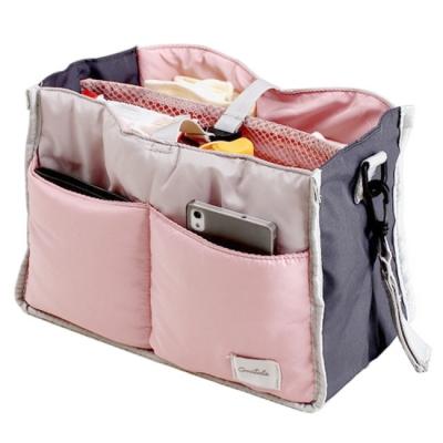 《JMALL》高品質多功能母嬰用品收納包中包/嬰兒手推車吊掛包