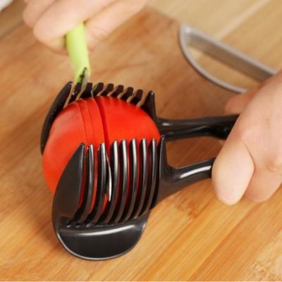 《JMALL》創意實用多功能手持蔬果切片輔助器/切片器/夾子