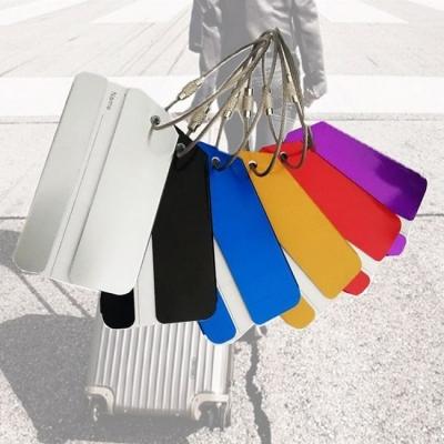 《JMALL》簡約時尚鋁合金行李吊牌