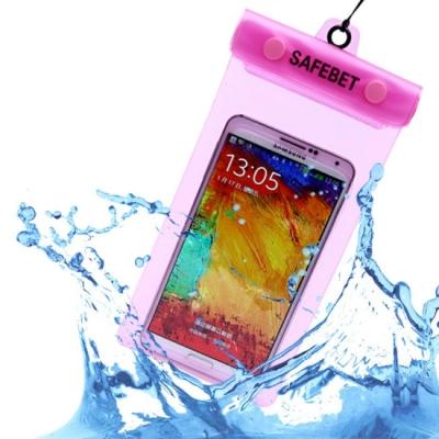 《JMALL》簡約時尚手機防水背袋/防水收納袋